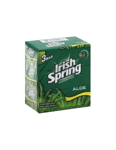 Irish Spring Soap Original (Pack of 3) 106.3g