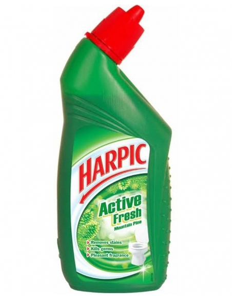 Harpic Active Toilet Cleaning Gel Mountain Pine 750ml