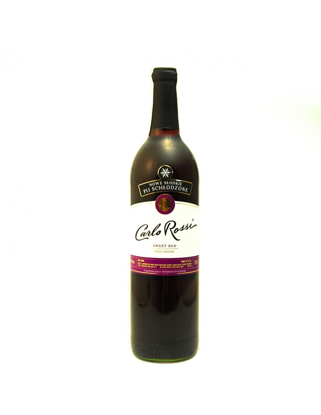 Carlo Rossi Sweet Red 75cl Market Express Sprite Pet 15l